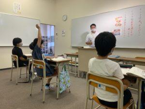 7/21 小学4年生 国語の授業風景