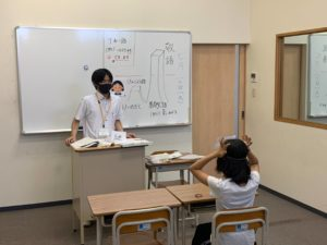 7/21 小学6年生 国語の授業風景
